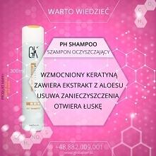 Global Keratin GK Hair szampon oczyszczający ph shampoo - sklep warszawa walendów nadarzyn  Szampon PH 100ml cena: 29zł 300ml cena: 79zł 1000ml cena: 169zł (wysyłka UPS od 9zł d...