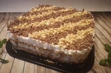 Ciasto Biały Śnieg ( bez pieczenia)