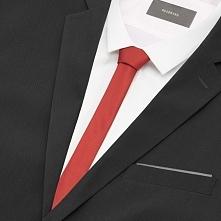 Krawat - Czerwony