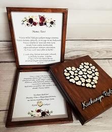 Pudełko dla rodziców z prośbą o błogosławieństwo. Link do produktu w komentarzu.