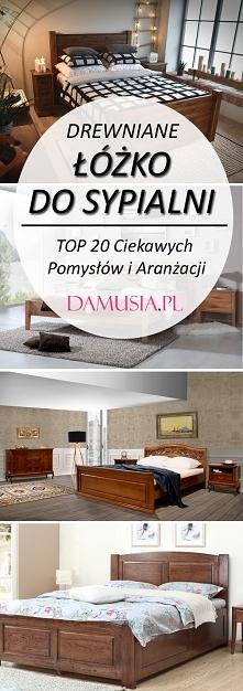 Drewniane Łóżko do Sypialni...