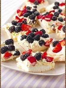ZAPOMNIANY DESER  Składniki  białka z 6 jajek 1/2 łyżeczki soli 250g + 2 łyżeczki drobnego cukru 1/2 łyżeczki wodorowinianu potasu 1 łyżeczka ekstraktu waniliowego masło...