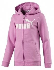 Puma Dziewczęca Bluza Z Kapturem 140 Różowy