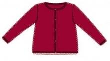 Carodel Sweter Dziewczęcy 104 Czerwony