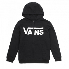 Vans By Vans Classic Zip Black/White L