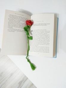 Zakładka do książki szydełk...