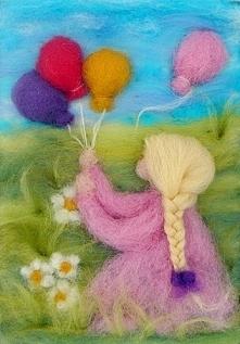 """""""Dziewczynka z balonam..."""
