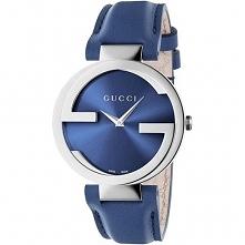 Zegarek damski Gucci YA133322 minuta-pl niebieski Zegarki damskie