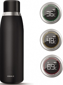 Umax Termos Smart Bottle 500ml czarny