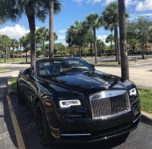black, car, RR, luxury, rich
