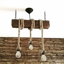 Ręcznie robiona lampa sufit...