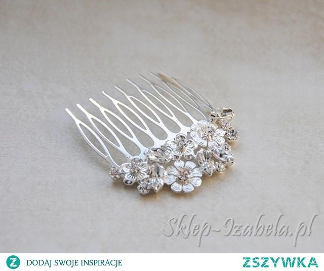 Biżuteria do włosów na ślub i wesele