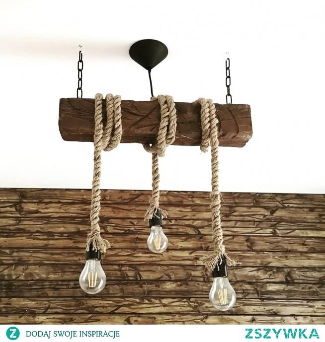 Ręcznie robiona lampa sufitowa. Mam taką drugą do odsprzedania.