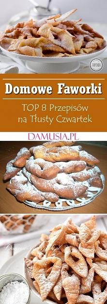 Domowe Faworki – TOP 8 Prze...