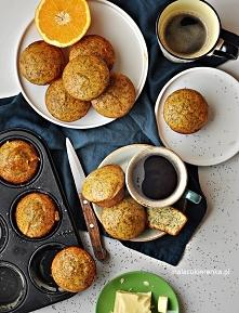 Proste Muffiny Pomarańczowe...