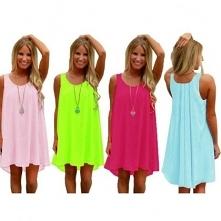 piękne, neonowe sukienki