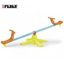 Huśtawka Twister firmy Feber to fantastyczna zabawka ogrodowa przeznaczona dla dwójki dzieci, która zapewni mnóstwo radości.
