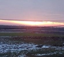 Zachód słońca ,kolejna rzecz która uwielbiam
