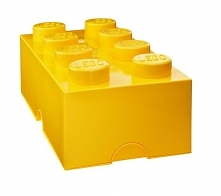 Lego Pojemnik Na Klocki 8  4004, Żółty