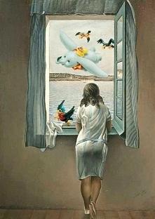 Otwieram okno na świat.