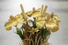 Kwiaty ze słomy