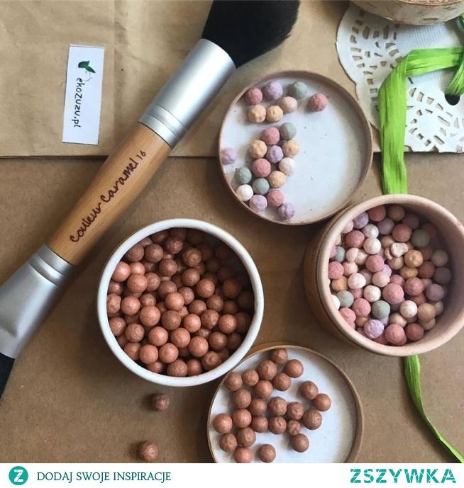 Kulki rozświetlające Couleur Caramel dostępne również w wersji brązującej na ekozuzu.pl