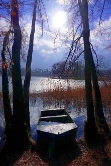 Jezioro Stęszewskie w Puszc...