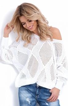 Fantastyczny lekki sweterek...