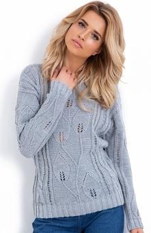 Klasyczny sweter damski, kt...