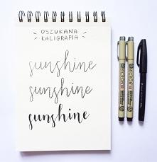 Jak robić piękne napisy – oszukana kaligrafia