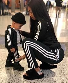 girl, mom, baby, black, style, babymama