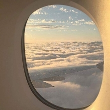 plane, sky, fly, picture, clouds