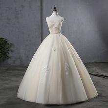 Eleganckie Szampan Suknie Ś...