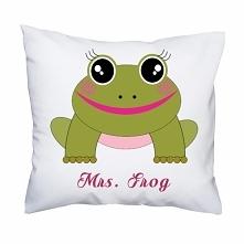 Poduszka- Mrs. Frog