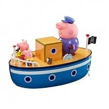 Łódka Tm Toys Peppa z 3 figurkami PEP05060