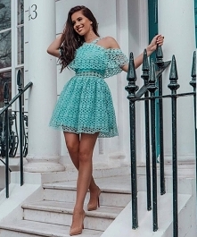 Sukienka mini chi chi londo...