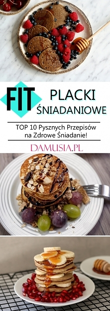 FIT Placki Śniadaniowe – TOP 10 Pysznych Przepisów