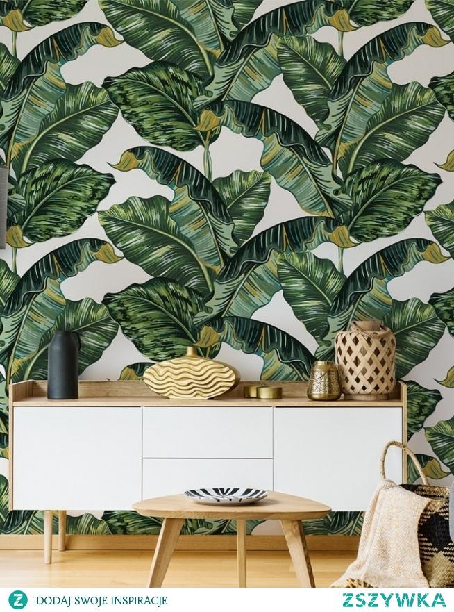 Domowa dżungla - chcielibyście taką? (fototapeta Myloview, nr 154342331)