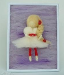 Wróżka balerina tańcząca wś...