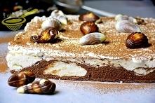 ciasto Plaża (bez pieczenia)