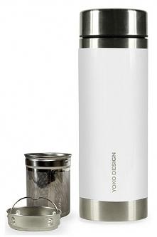 Yoko Design Termos Z Sitami Do Herbaty, 350 Ml, Biały