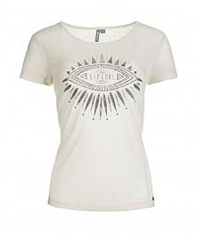 Rip Curl T-Shirt Damski Chaati Xs Kremowy