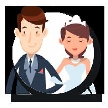 Przypinki na wesele dla goś...