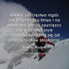Andrzej Machnik cytat o wie...