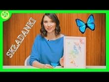 Składanki - Motyl Origami  ...