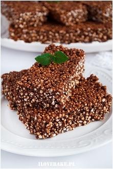Czekoladowe batoniki quinoa