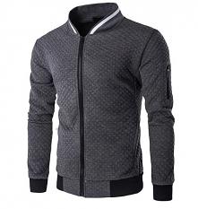 Klasyczna, casualowa bluza męska w stylu bomber - świetny wybór na wiosnę! Kliknij w zdjęcie i sprawdź, gdzie można ją dostać :)