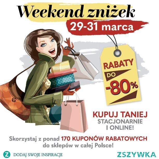 Weekend zniżek 2019 - poznaj wszystkie kody i promocje sklepów