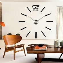 Duży dekoracyjny zegar ście...