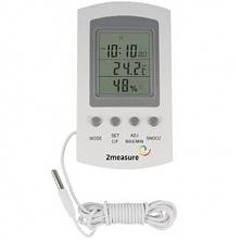 Stacja pogody - termometr/higrometr z zegarem Biowin 170601